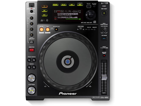 Pioneer - CDJ-850-K Multi CD Player