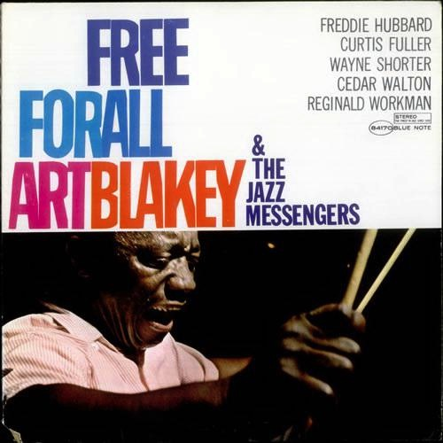 ART BLAKEY AND THE JAZZ MESSENGERS - FREE FOR ALL LP