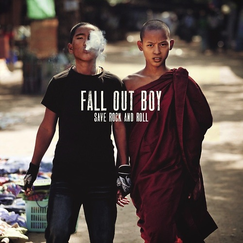 FALL OUT BOY SAVE ROCK AND ROLL 2X10""