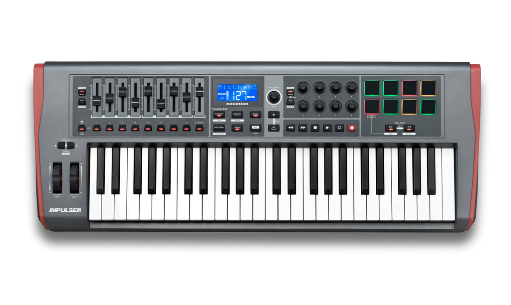 NOVATION - IMPULSE 49 KEYBOARD