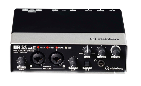 STEINBERG - UR22 AUDIO INTERFACE