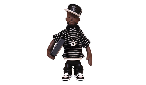 J DILLA TOY FIGURE, DONUTS VERSION