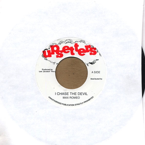 MAX ROMEO - CHASE THE DEVIL / UPSETTERS VERS. 7""