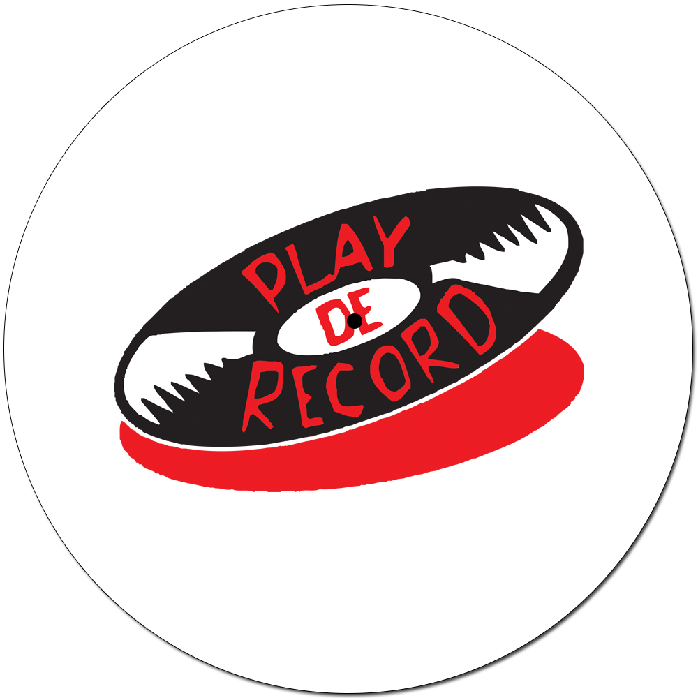 PlayDeGear - CLASSIC PLAY DE RECORD SLIPMAT White (PAIR)