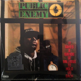 PUBLIC ENEMY - IT TAKES A NATION OF MILLIONS TO HOLD US BACK (3D COVER) LP