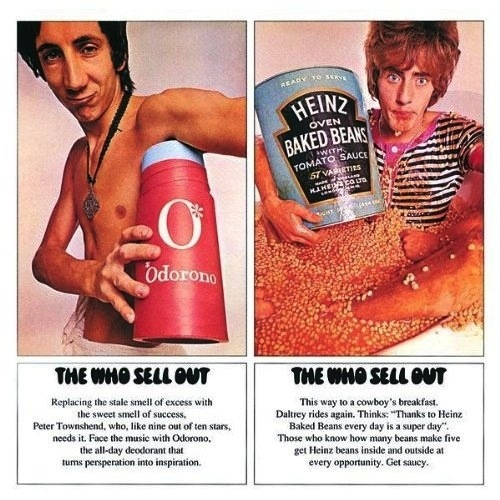 THE WHO - SELL OUT LP