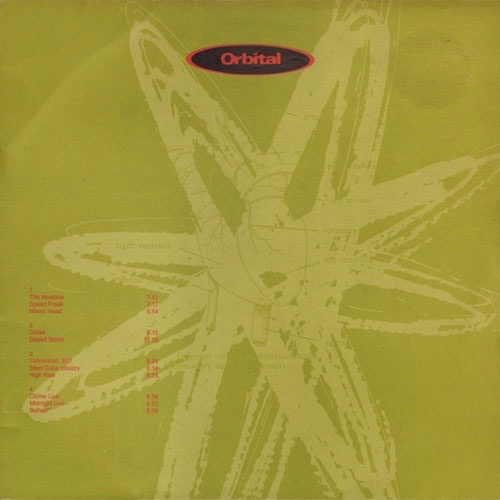 ORBITAL - ORBITAL (GREEN ALBUM) 2LP