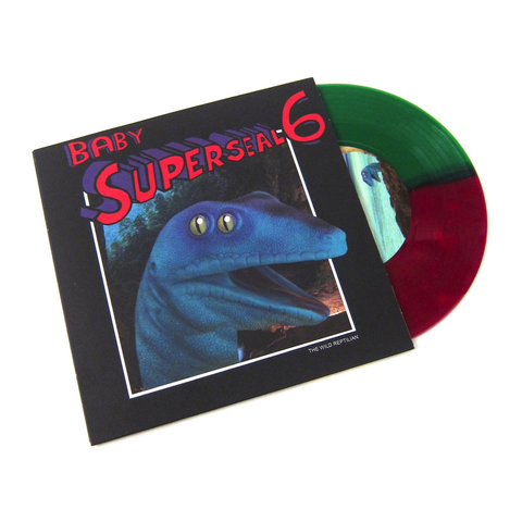 Q BERT - BABY SUPERSEAL 6 (THE WILD REPTILIAN) 7""