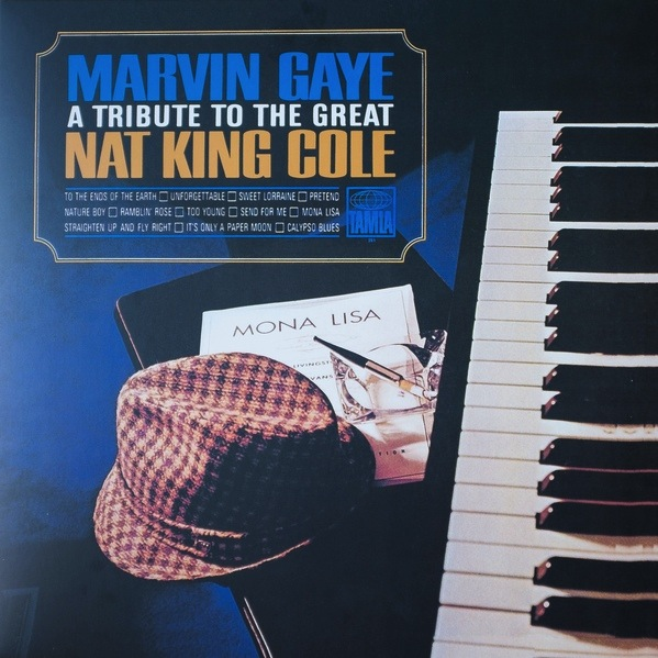MARVIN GAYE - A TRIBUTE TO THE GREAT NAT KING COLE LP