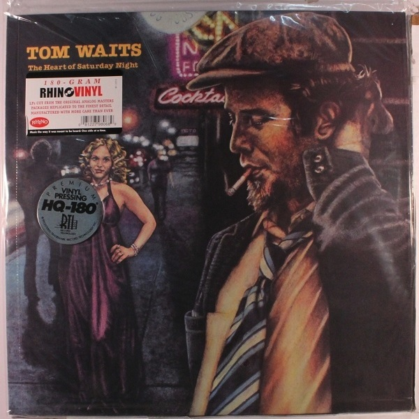 TOM WAITS - THE HEART OF SATURDAY NIGHT LP