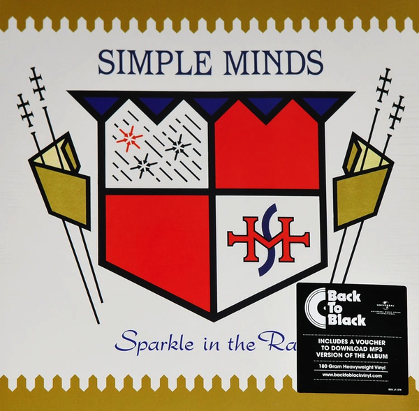 SIMPLE MINDS - SPARKLE IN THE RAIN LP (180 GRAM)