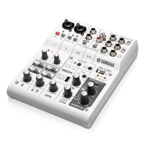 YAMAHA - AG06 Multi-purpose 6-channel mixer/USB audio interface