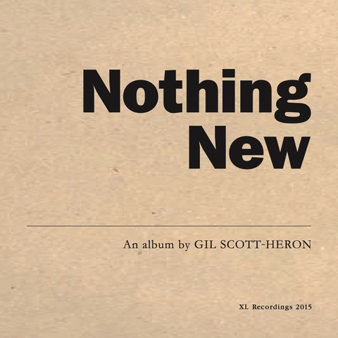 GIL SCOTT-HERON - NOTHING NEW LP + DVD