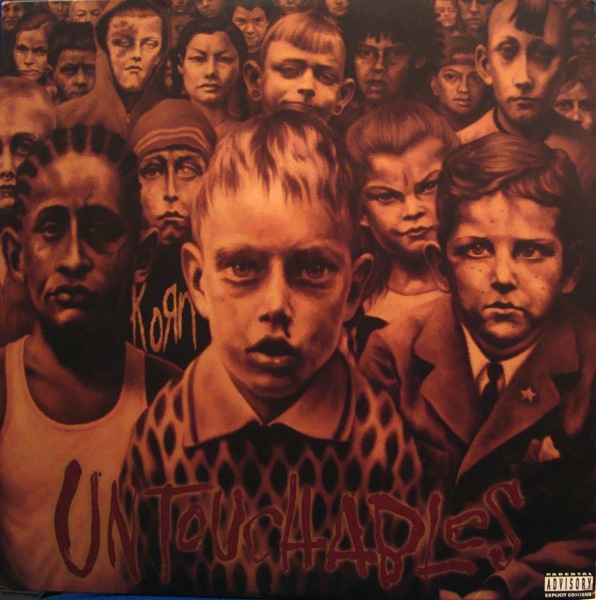 KORN - UNTOUCHABLES  LP (180 GRAM) (BRONZE VINYL) LTD