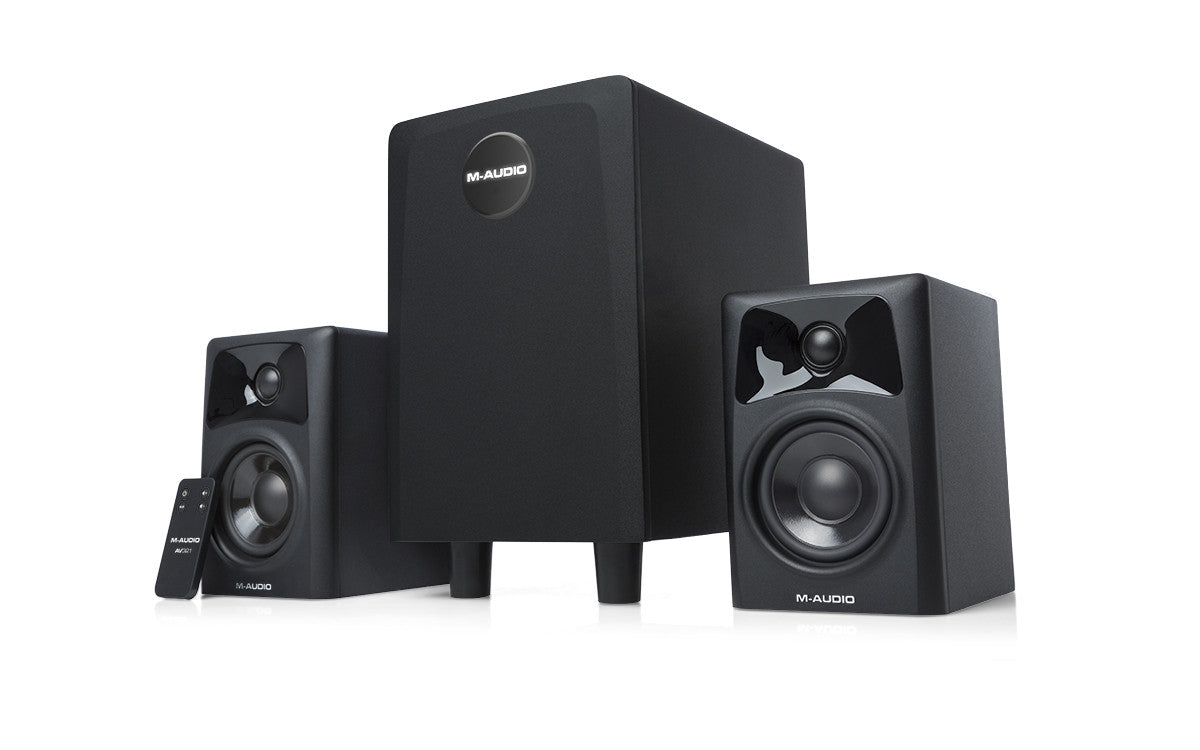 M-AUDIO - AV32.1 - 2.1-Channel Powered Speaker System