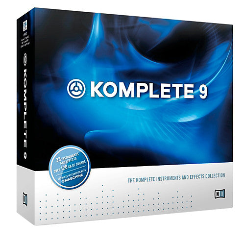 NATIVE INSTRUMENTS - KOMPLETE 9 INSTRUMENTS & EFFECTS COLLECTION