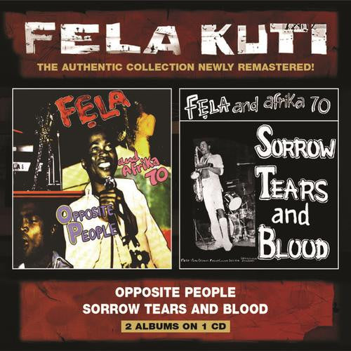 FELA KUTI, OPPOSITE PEOPLE/SORROW TEARS