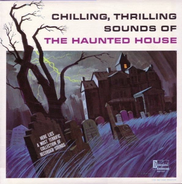VARIOUS ARTISTS - CHILLING THRILLING SOUNDS OF THE HAUNTED HOUSE LP