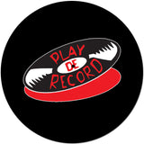 PlayDeGear - CLASSIC PLAY DE RECORD SLIPMAT BLACK (PAIR)