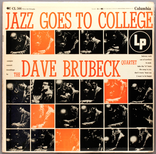 THE DAVE BRUBECK QUARTET - JAZZ GOES TO COLLEGE LP