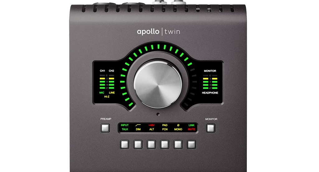 UAD - APOLLO TWIN DUO MKII THUNDER BOLT FOR WIN/MAC