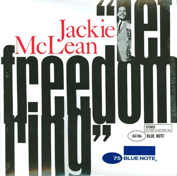 JACKIE MCLEAN - LET FREEDOM RING LP