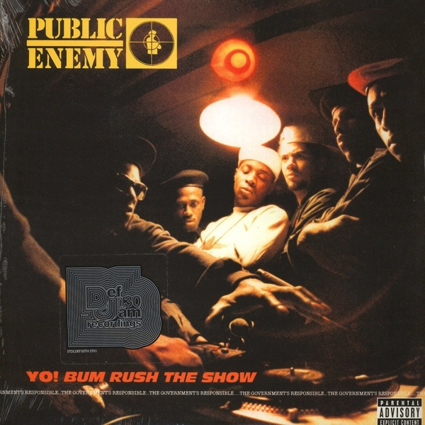 PUBLIC ENEMY - YO BUMRUSH THE SHOW LP