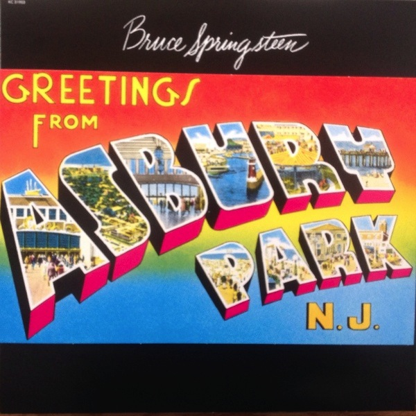BRUCE SPRINGSTEEN - GREETING FROM ASHBURY PARK, NJ LP