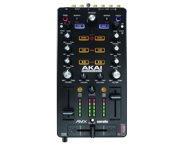 AKAI - AMX MIXING SURFACE W/ AUDIO INTERFACE FOR SERATO DJ