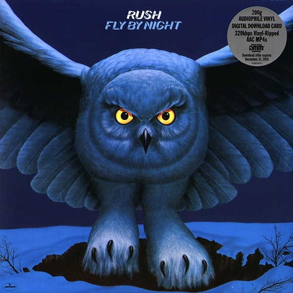 RUSH - FLY BY NIGHT LP
