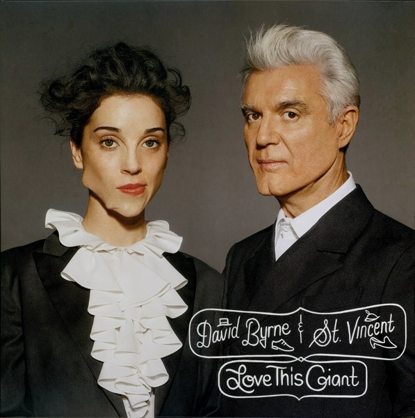 DAVID BYRNE AND ST VINCENT - LOVE THIS GIANT LP
