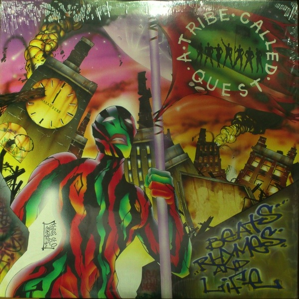 A TRIBE CALLED QUEST - BEATS, RHYMES & LIFE 2LP