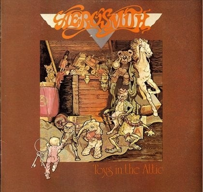 AEROSMITH - TOYS IN THE ATTIC LP