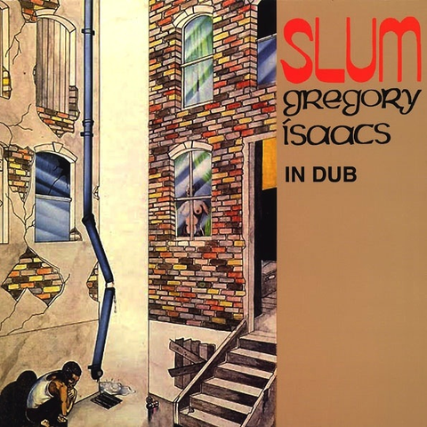 GREGORY ISAACS - SLUM IN DUB LP (COLOURED VINYL)
