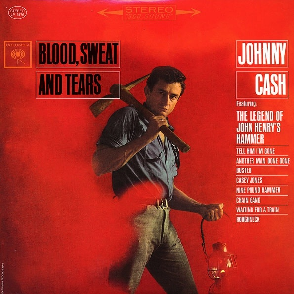 JOHNNY CASH - BLOOD, SWEAT AND TEARS lp