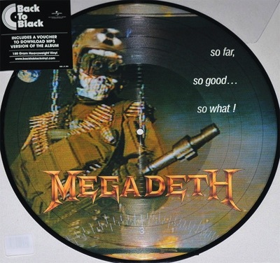 MEGADETH - SO FAR SO GOOD SO WHAT LP (PICTURE DISC)