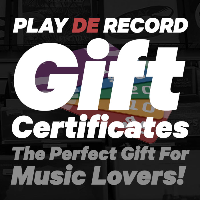 Play De Record - Gift Certificate $50