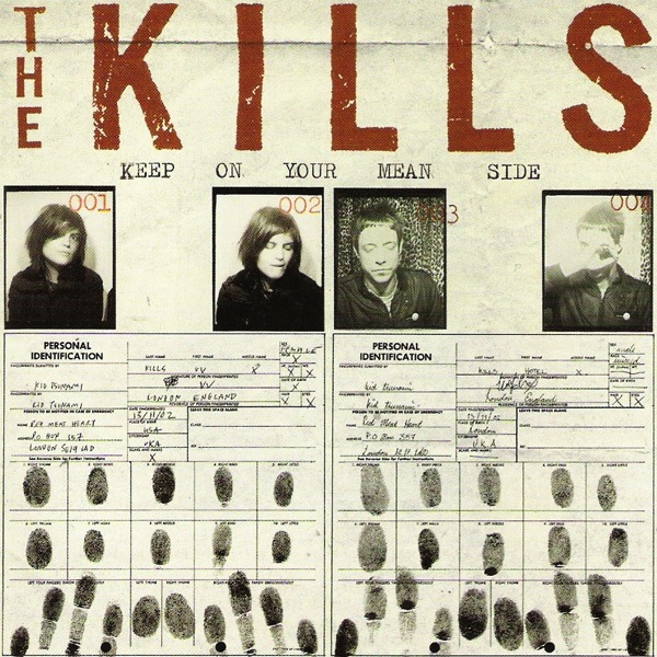 THE KILLS - KEEP YOUR MEAN SIDE LP  (180 GRAM) + DOWNLOAD CODE
