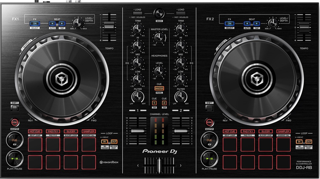Pioneer DDJ-RB Portable 2-channel Controller for Rekordbox DJ