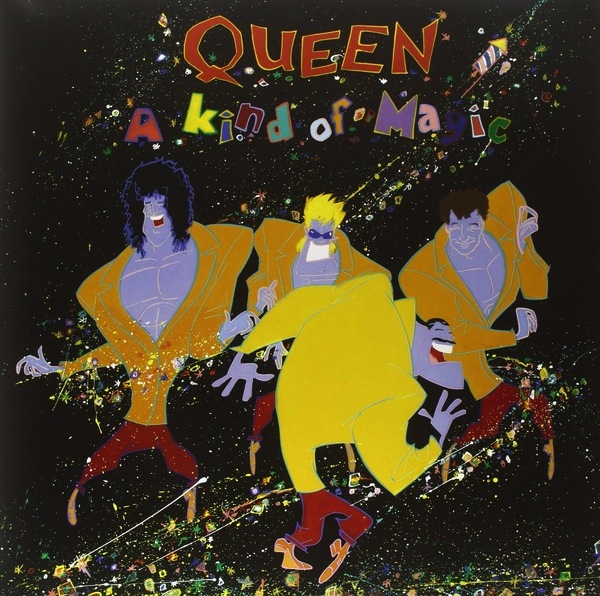 QUEEN - A KIND OF MAGIC (REMASTERED) LP