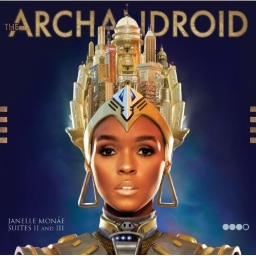 JANELLE MONAE - THE ARCHANDROID 2LP