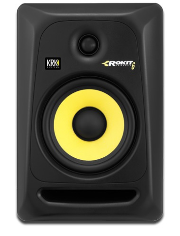 KRK - RP6G3-NA Rokit 6 Generation 3 Powered Studio Monitor