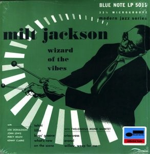 "MILT JACKSON - WIZARD OF THE VIBES 10"" LP"