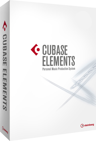 STEINBERG - CUBASE ELEMENTS  (FULL BOX VERSION)