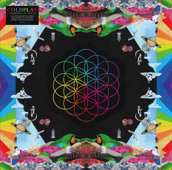 COLDPLAY - A HEAD FULL OF DREAMS 2LP (180G)