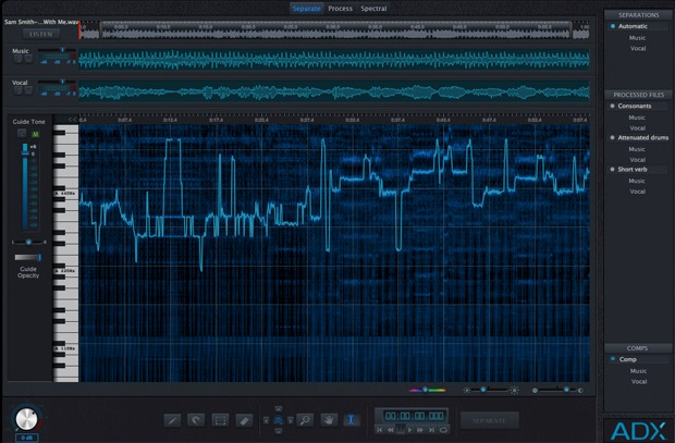 AUDIONAMIX - ADX Trax Pro  Non-Destructive Spectral Separation (Download)