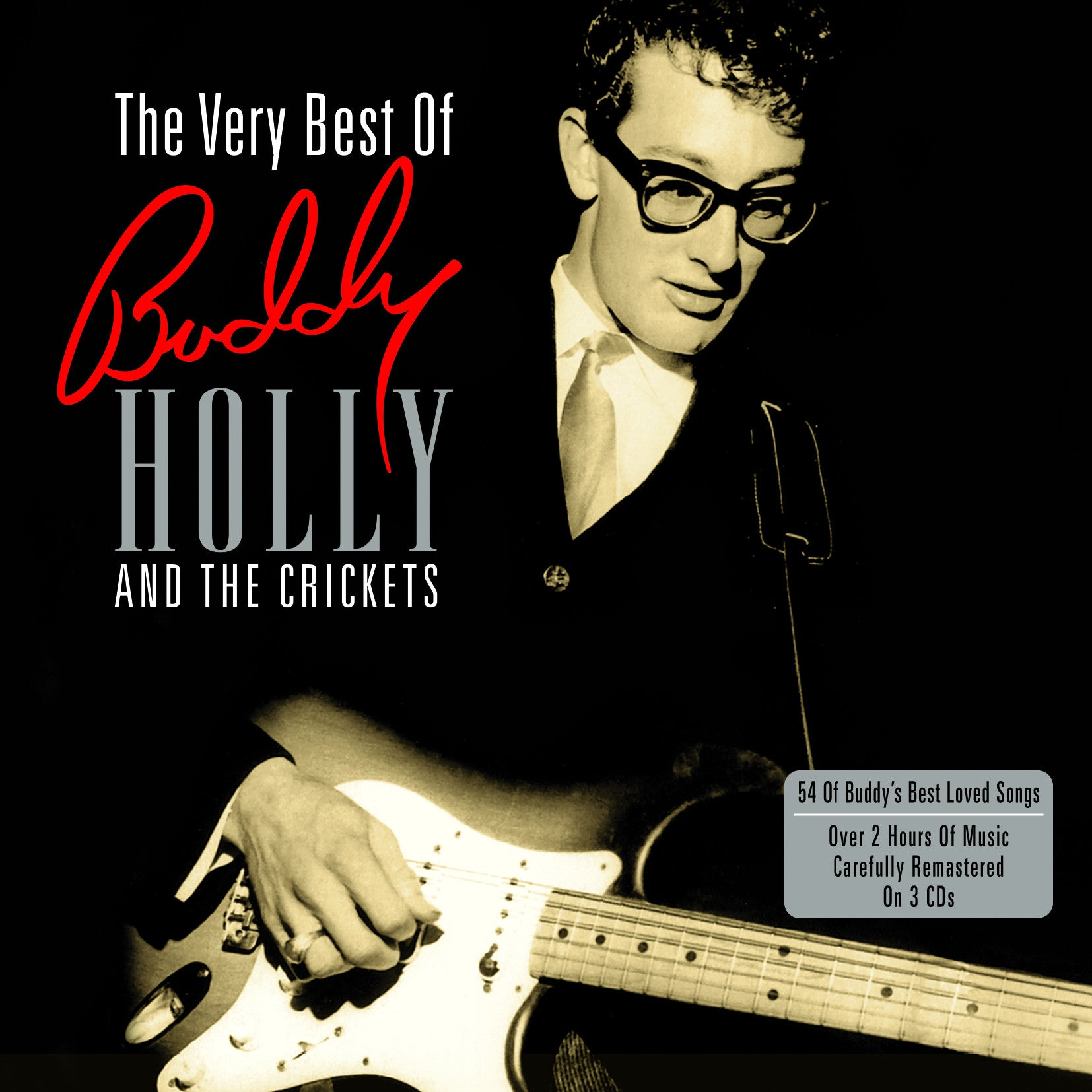 BUDDY HOLLY & THE CRICKETS - THE VERY BEST OF BUDDY HOLLY & THE CRICKETS 2LP (180 GRAM)