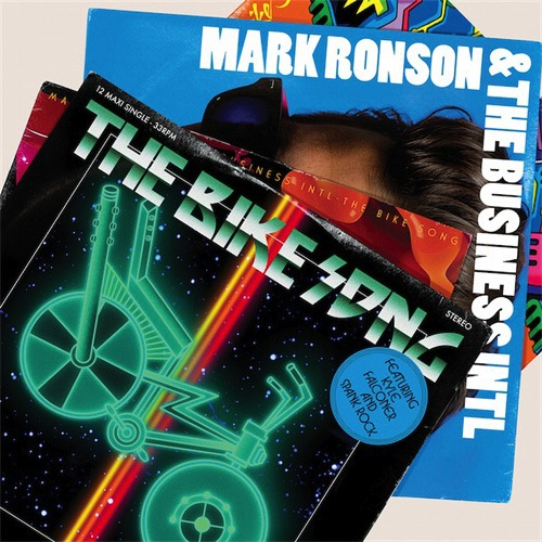 "MARK RONSON - BIKE SONG EP (MAJOR LAZER 12"")"