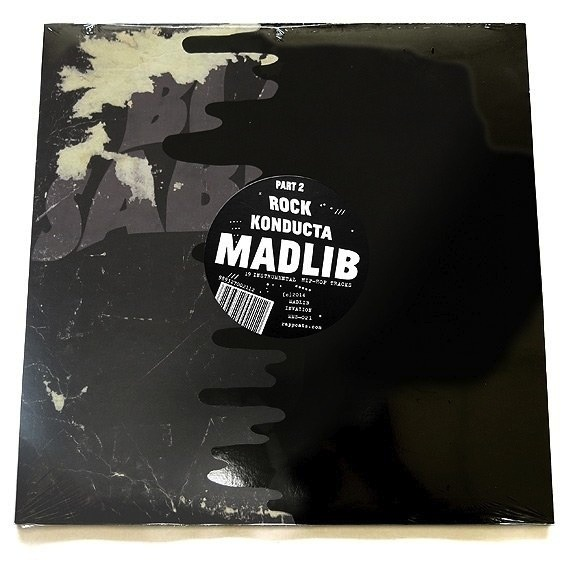 MADLIB - ROCK KONDUCTA PART TWO (LP)