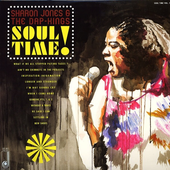 SHARON JONES - SOUL TIME LP